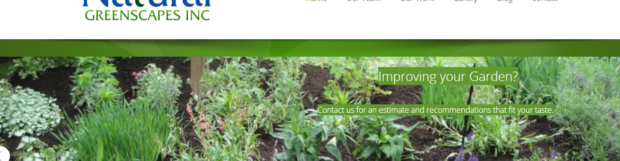 Natural Greenscapes Launches New Website